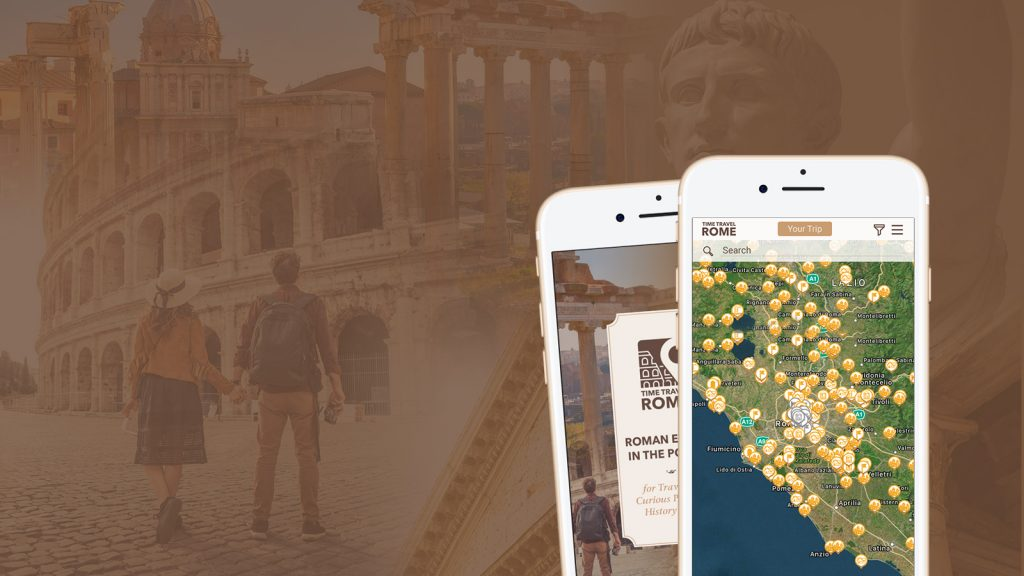 Time Travel Rome history app
